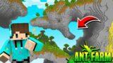 AJAIB ! PINTU GERBANG SUDAH TERBUKA MENUJU DUNIA BAWAH TANAH ! Minecraft Sarang Semut #2