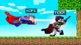BATMAN vs. SUPERMAN Speedrunners In Minecraft!