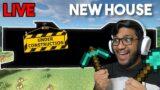 BUILDING NEW MODERN HOUSE IN KHATARNAK MINECRAFT LIVE !