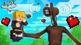 Catching SIREN HEADS New GIRLFRIEND! in 360/VR! – Minecraft VR Video