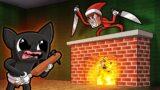 Elf on the Shelf vs Baby Cartoon Cat! (Minecraft)