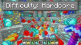 Hardcore Minecraft But With Fortune 1000 Pickaxe…