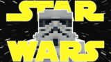 I CREATED MY OWN STAR WARS STORY IN MINECRAFT!