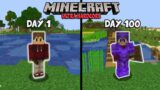 I Survived 100 Days in Ultra Hardcore Minecraft… Here's What Happened