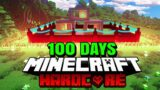 I Survived 100 Days of Hardcore Minecraft and this is what happened…