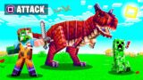 I tamed THE STRONGEST DINOSAUR in Minecraft!