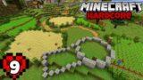 Let's Play Minecraft Hardcore   Farm Build! Episode 9