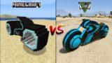 MINECRAFT TRON BIKE VS GTA 5 TRON BIKE – WHICH IS BEST?