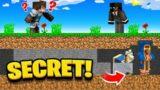 Making a SECRET VILLAGER in Minecraft