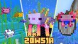 Minecraft 1.17: [Snapshot 20w51a] Co Nowego? AXOLOTLE! LEPSZE SAKIEWKI!