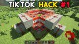 Minecraft Amazing Tik Tok Hack #1