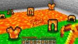 Minecraft BUT Lava Drops Armor…