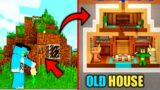 Minecraft   Found Oldest Redstone House With Oggy And Jack   Minecraft Pe   In Hindi   Survival  
