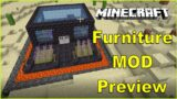 Minecraft Furniture MOD Preview In New House, Fun Playing Together….
