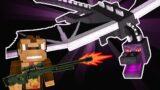 Minecraft Gun Speedrun (I SHOT THE ENDER DRAGON)