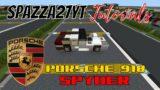 Minecraft Porsche 918 Spyder Tutorial