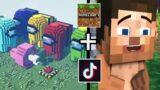 Minecraft Tik Tok Compilation 19 MEJORES MOMENTOS + FAILS + FUNNY