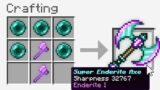 Minecraft UHC but I added a *NEW* Enderite Axe..