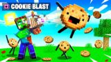 *NEW* COOKIE BLASTER shoots PET COOKIES (Minecraft)