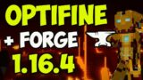 OPTIFINE 1.16.4 minecraft – how to download & install OptiFine with Forge 1.16.4 & OptiForge 1.16.4