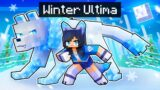 Playing Minecraft As The WINTER ULTIMA!