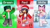 Playing With Only ONE COLOR In Minecraft!
