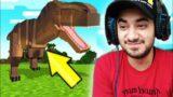 Playing World's Hardest Mod in Minecraft
