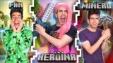 Tipos de Jugadores en Minecraft