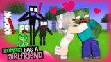 """ZOMBIE has a GIRLFRIEND!"": Monster School RomCom Story: Minecraft Animation"