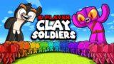 10 Player CLAY SOLDIERS World War! (Minecraft)