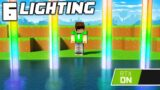 6 Lighting Tricks You Didnt Know You Could do In Minecraft RTX!