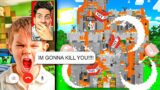 ANGRY KID RAGED and HACKED Me After I BLEW UP HIS MINECRAFT SERVER!