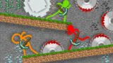 Animation vs. Minecraft vs Stickman Shorts Ep 20 The Piglin War Animator vs. Animation V (official)