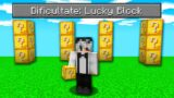 Bat Minecraft Cu Lucky Block!