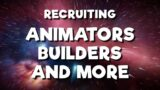 [CLOSED] RECRUITING – Animators, Builders, Artists and more! (Minecraft Animation)