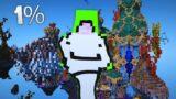 Dream using 1% of his Brain Power in Minecraft…