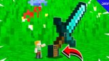 HOW TO LIVE INSIDE DIAMOND SWORD IN MINECRAFT!