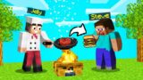 I BECAME A CHEF In MINECRAFT! (Jelly Burger)
