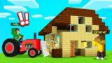I Got TROLLED So I DESTROYED My FRIENDS HOUSE! (Minecraft)