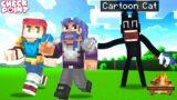 I Hunted My Friends As CARTOON CAT In Minecraft (Intense!)