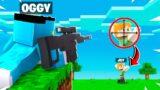 MINECRAFT Speedrunner Vs Hunter WITH GUNS!