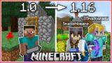 Minecraft BUT The Version Updates Everyday…