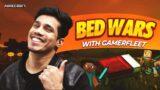 Minecraft Bedwars With GamerFleet   2 Wins