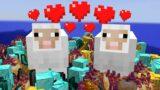 Minecraft, But Breeding Drops OP Items