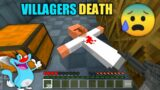 Minecraft   Found Villagers Dead Body In Alien Base   With Oggy And Jack   Minecraft Pe   In Hindi  