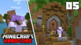 Minecraft Hardcore Let's Play – THE MINE ENTRANCE!!! – Episode 5