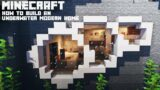 Minecraft: How to build an Underwater Mountain House