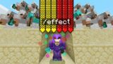 Minecraft Manhunt but I secretly cheated with /effect…