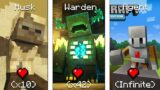 Minecraft Mobs And Their Health Points 2