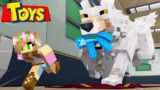 Minecraft TOYS : SAVING DOLLS FROM GIANT PET DOG!   Roleplay   Little Kelly